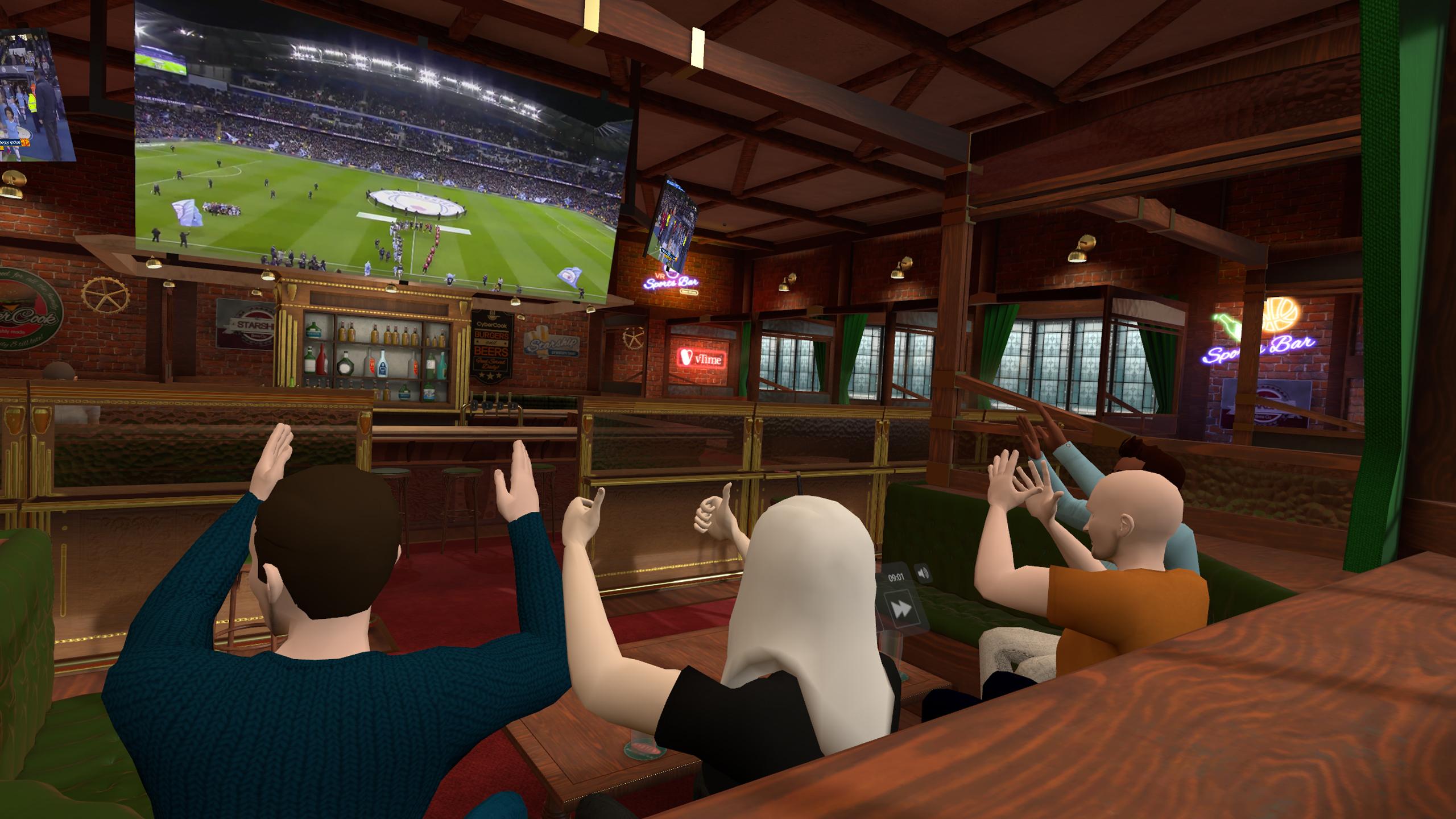 Vtime Xr Sports Bar Theaters