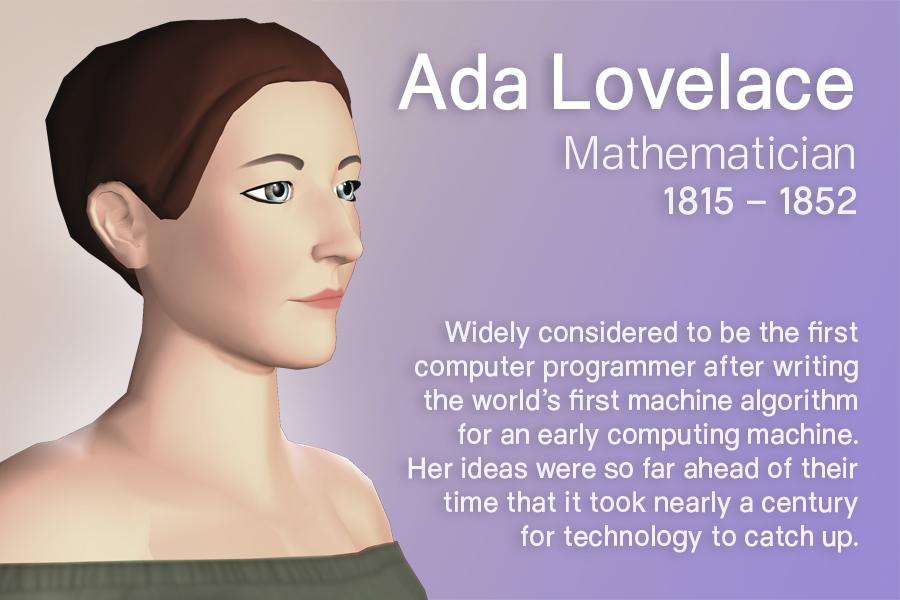 V Time Ada Lovelace