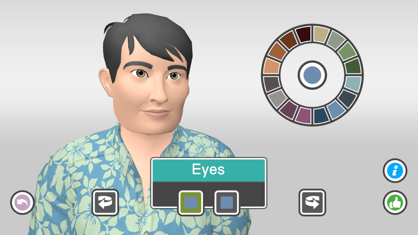 V Time Avatar Customization