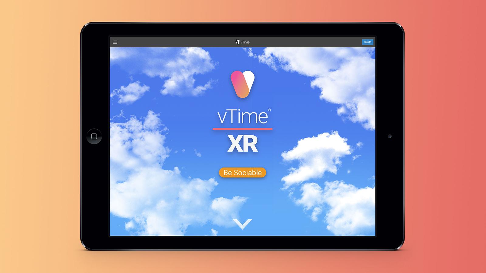 Vtime New Website Image