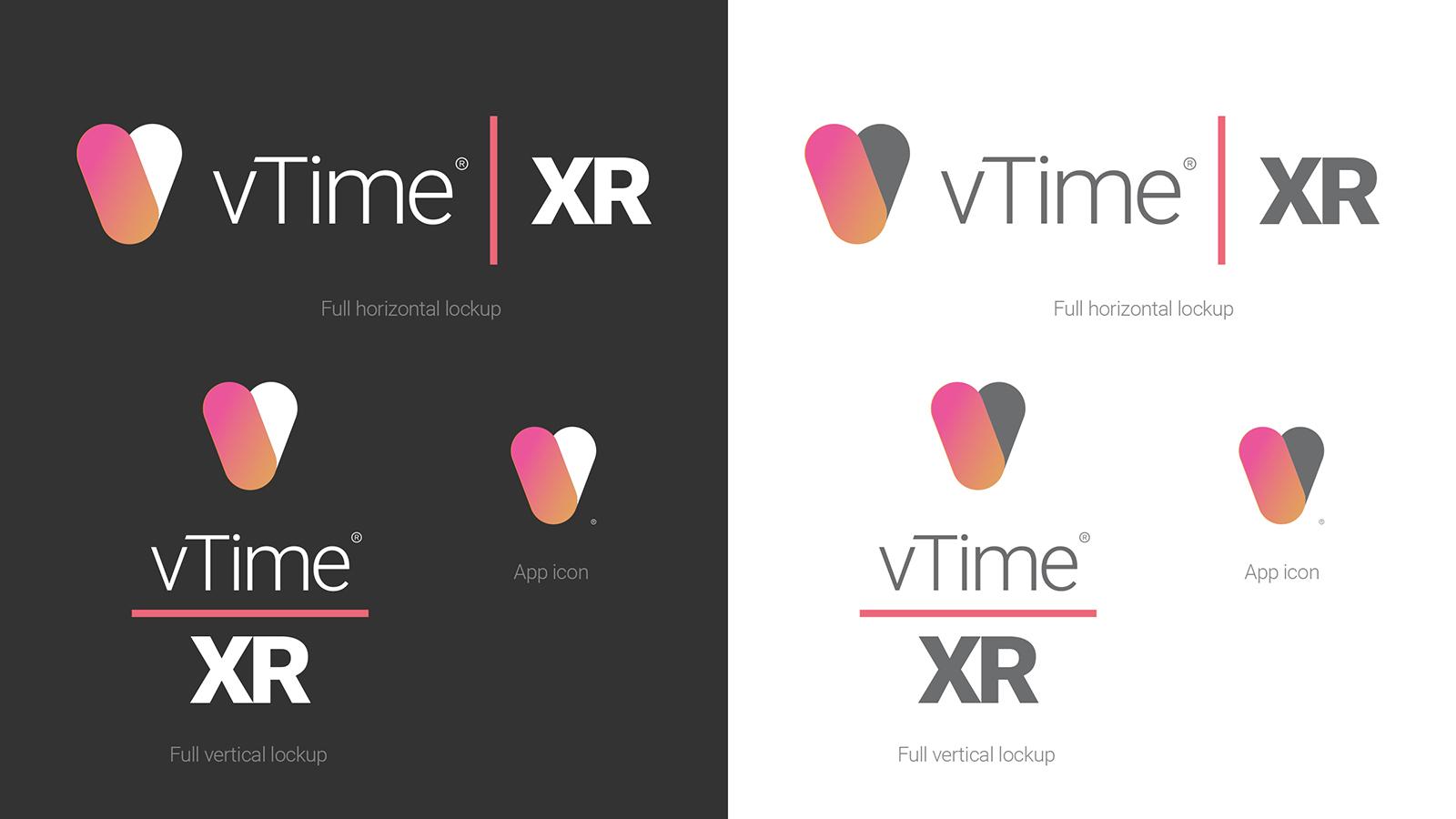 New Vtime Xr Logo Colour Split