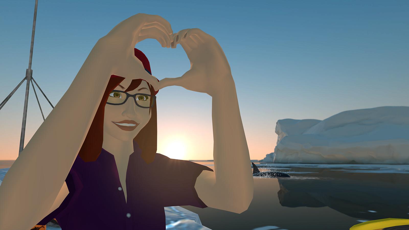 V Time V Motes Virtual Emojis Heart Symbol